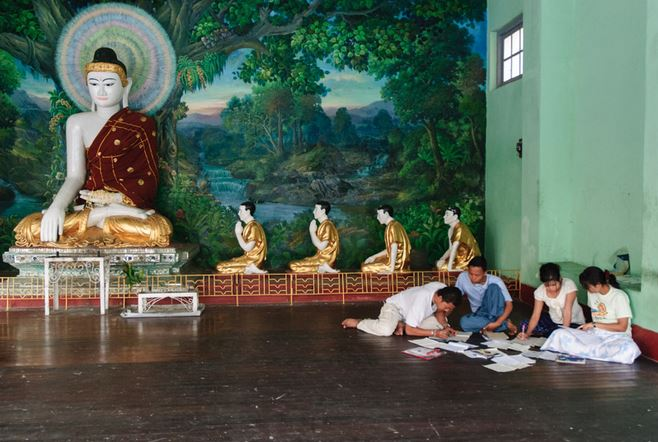 photo essay buddhism in myanmar buddhist art news buddhism myanmar
