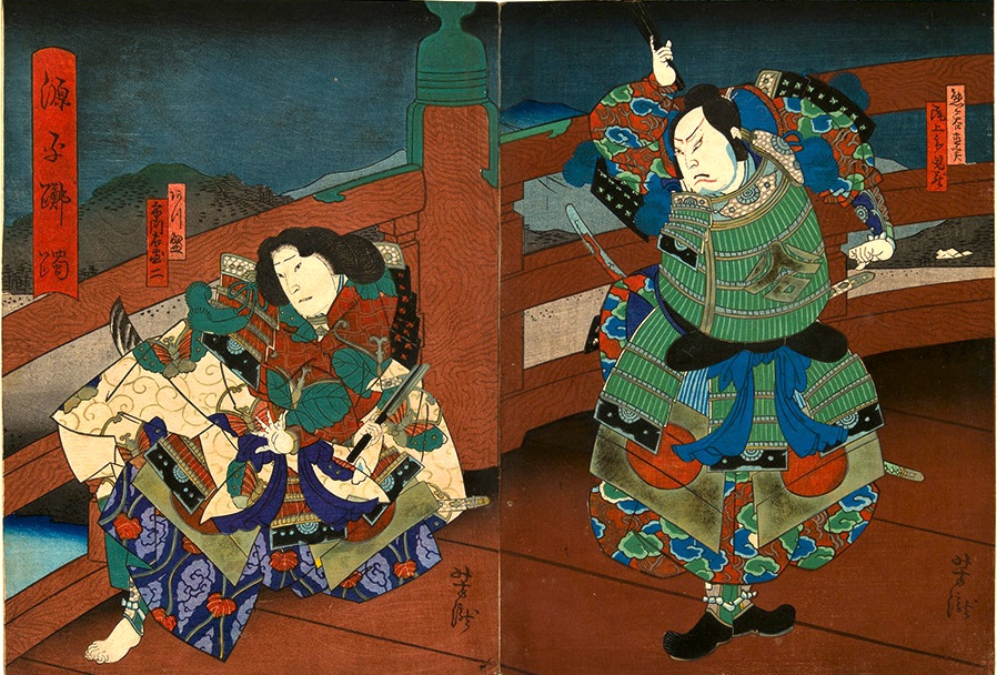 Japanese Art And The Warrior Monk  Benkei  Buddhism And