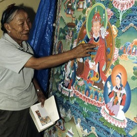 thargey-la-master-thangka-painter
