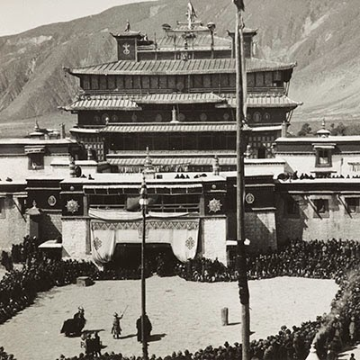 Photo 1285/8, Samye Monastery in 1936