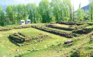 Ancient archaeological site in Srinagar known to be a Buddhist monument. From www.risingkashmir.com