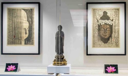 Buddha after display