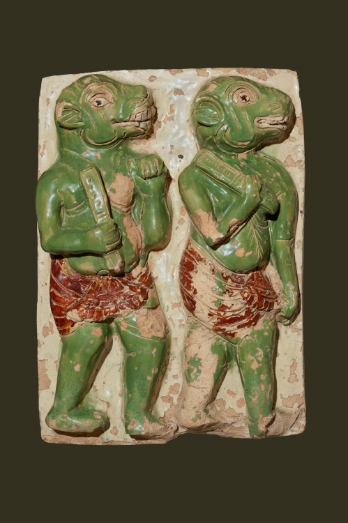 Mara's Demons Shwegugyi Temple, Pegu (ca. 1479), from the National Museum, Nay Pyi Taw. (Courtesy Asia Society, Photo by Sean Dungan)