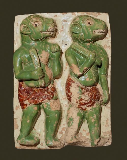 Mara's Demons, Shwegugyi Temple, Pegu, c. 1479 Photograph: Sean Dungan/Bagan Archaeological Museum