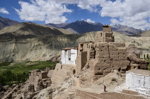The 15th-century citadel and temple complex at Basgo that once served as capital of 'Lower Ladakh'. It's one of many parts of Kashmir now opening up to tourists. Lizzie Shepherd / Robert Harding World Imagery / Corbis