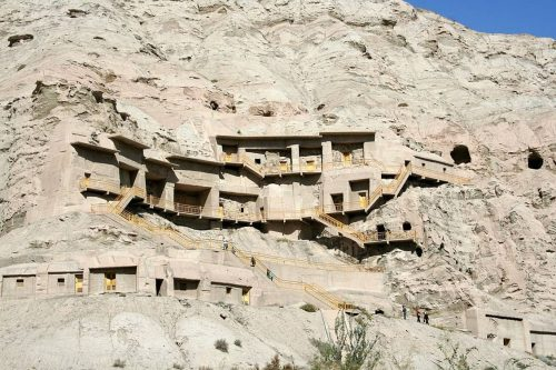 Featured image: The Kizil Thousand Buddha Caves in Xinjiang, China. Wikimedia, CC BY-SA 3.0 Read more: http://www.ancient-origins.net/ancient-places-asia/kizil-caves-earliest-buddhist-caves-china-silk-route-020231#ixzz3ZGj7gSKN  Follow us: @ancientorigins on Twitter | ancientoriginsweb on Facebook