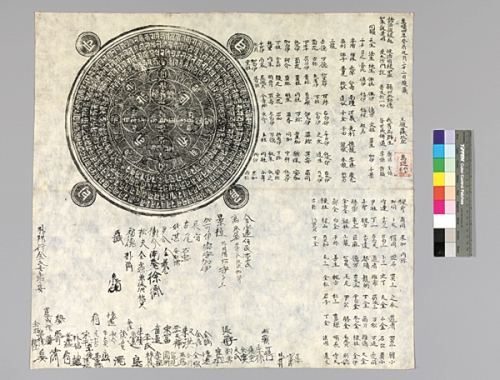 A 14th-century document about patrons of Buddhist art