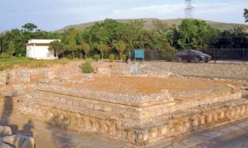 A view of Jinnah Wali Dheri Complex.