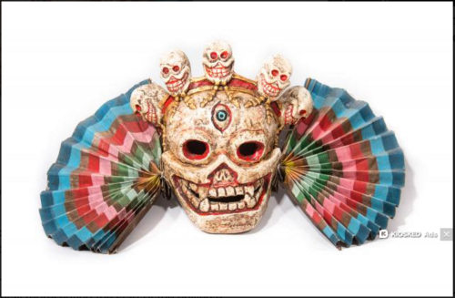 One of the objects to be featured at Wellcome's Tibet's Secret Temple show.Wellcome Collection/courtesy Ian Baker