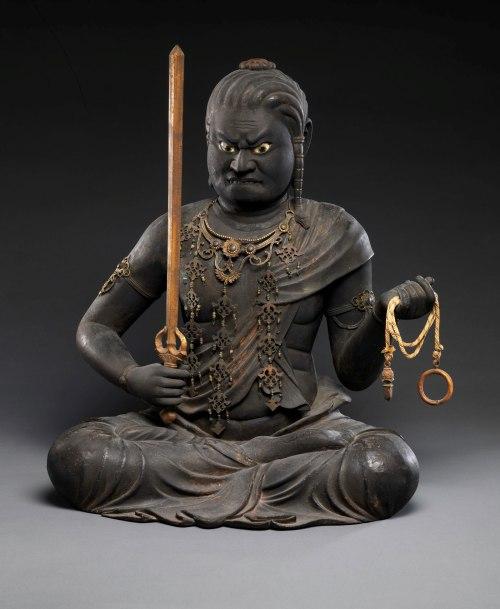 Kaikei: Fudō Myōō, Kamakura period, early thirteenth century The Metropolitan Museum of Art/Art Resource Statue of the Wisdom King Fudō Myōō by Kaikei, Kamakura period, early thirteenth century