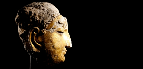 Head of Buddha, 4.–7. century A.D.