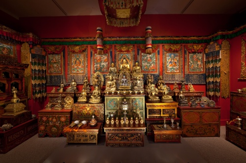 A Shrine for Tibet Photo courtesy of The Freer Gallery of Art and Arthur M. Sackler Gallery, Smithsonian Institution. From The Alice S. Kandell Collection. A Shrine for Tibet Photo courtesy of The Freer Gallery of Art and Arthur M. Sackler Gallery, Smithsonian Institution. From The Alice S. Kandell Collection.