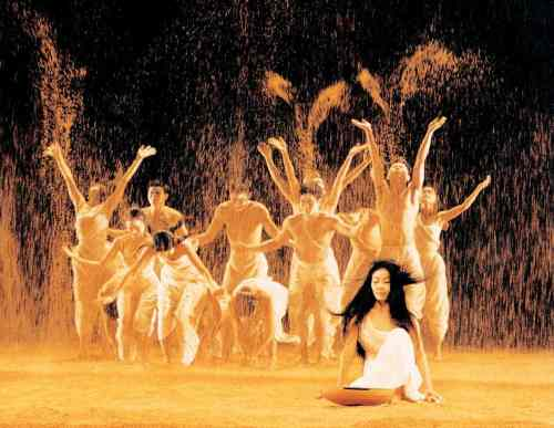 Songs of the Wanderers performed by Cloud Gate Dance Theatre of Taiwan. Photograph: Yu Hui-hung
