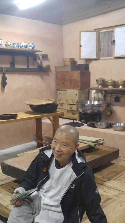 "Jeong Kwan appeared in Netflix food documentary series ""Chef's Table"", discussing how temple food is eaten ""to gain realization"""